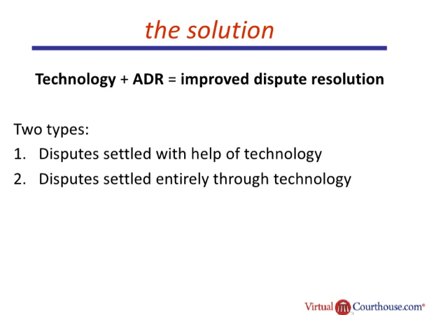 Open Law Lab - ADR and Technology