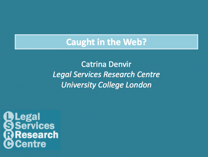 Catrina Denver - Legal Self-Help in the UK