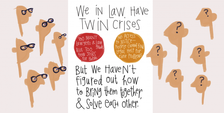 We Have Twin Crises in Law