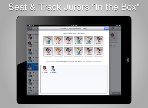 Jurypad app 2