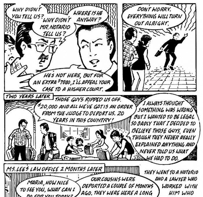 Immigration Law Comic