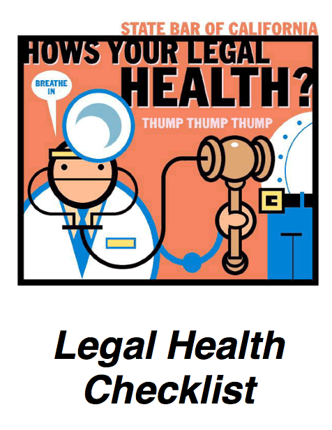 Legal Health Checklist 1