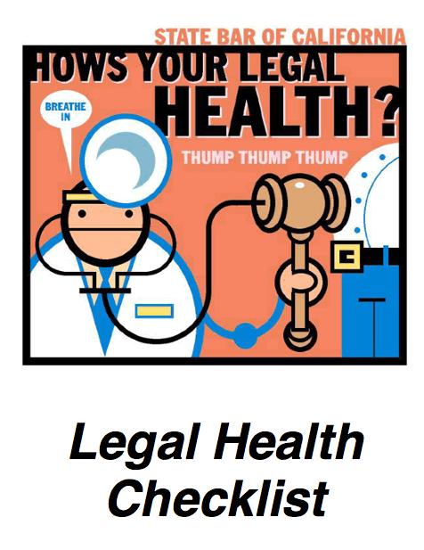 Legal Health Checklist 1