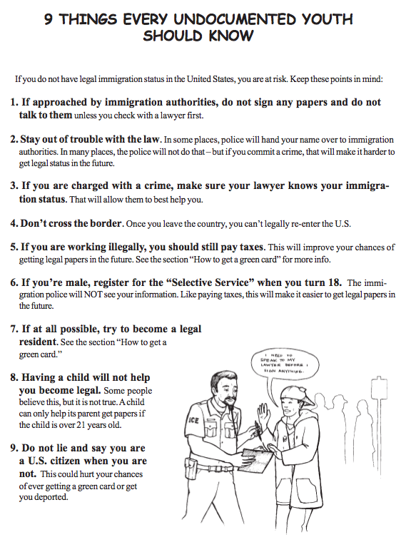Open Law Lab - Youth Undocumented Immigrant 5