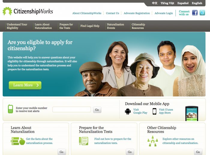 Open Law Lab - Citizenship Apps