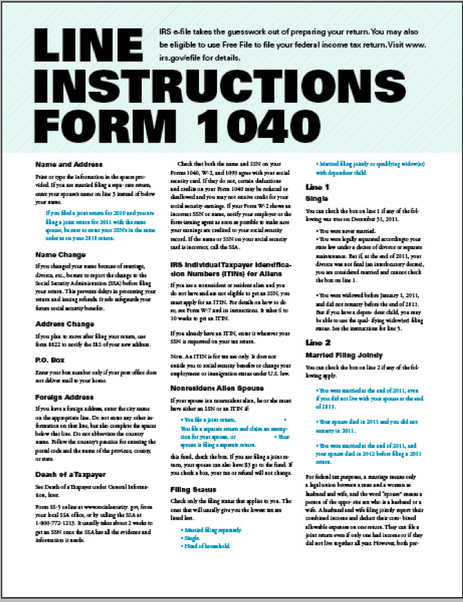 Open Law Lab - Form 1040 Tax Redesign