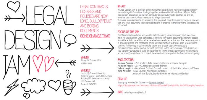 Legal Design Jam - Open Law Lab