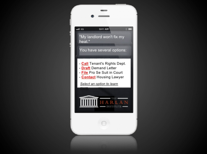 Open Law Lab - Access to Justice app