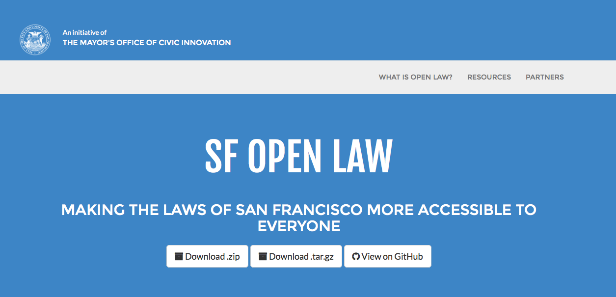 Open Law Lab - SF Open Law