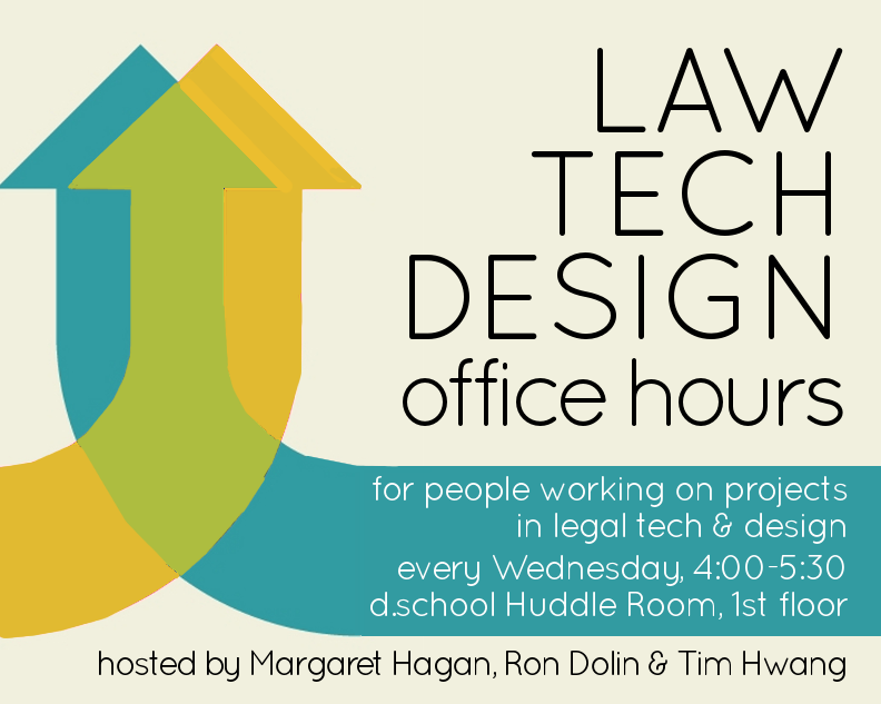 Law Tech Design office hour posters 3