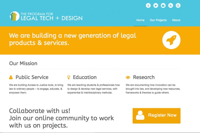 LTD- Program for Legal Tech screenshot