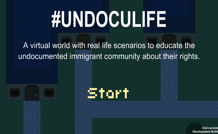 Undoculife immigration game - open law lab