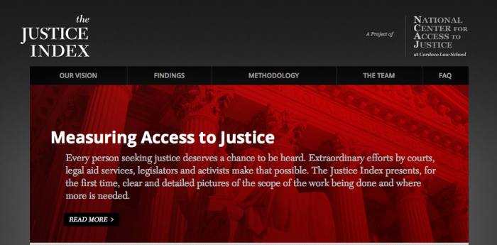 Open Law Lab - Justiceindex - 1