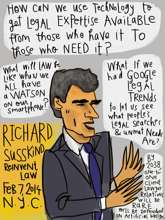 Reinvent Law - Richard Susskind - access and tech