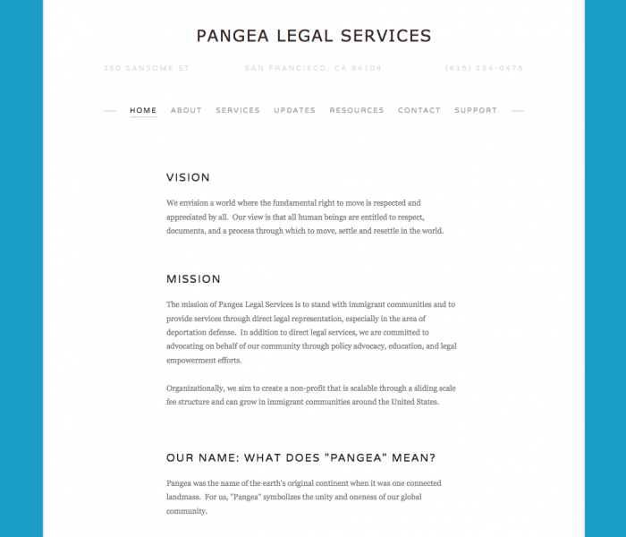 Open Law Lab - Pangea Legal Services for immigrants with sliding scale fees