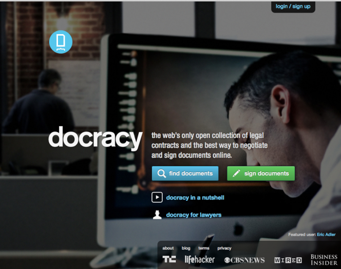 Open Law Lab - Github for Law - Docracy 1