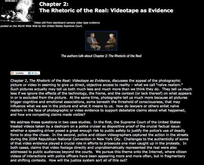 Visual Law - Law on Display 2