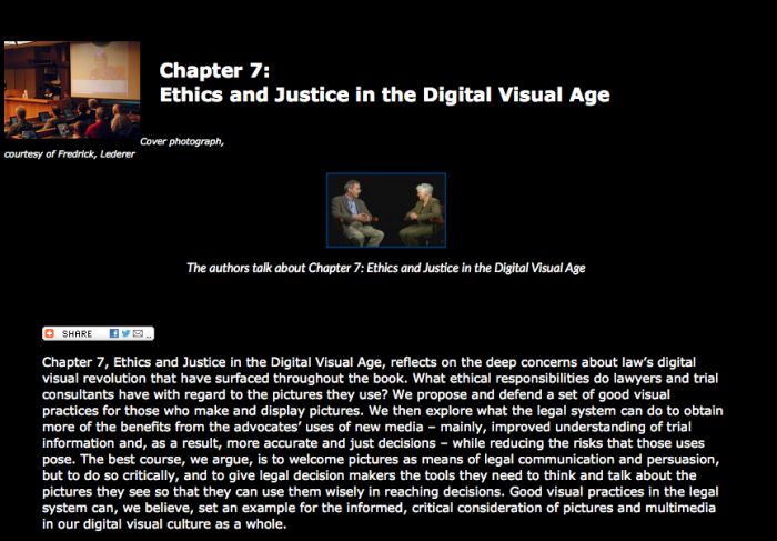 Visual Law - Law on Display 7