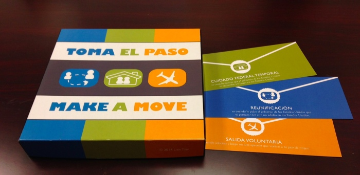 Game design - legal game - Toma El Paso - Make a Move