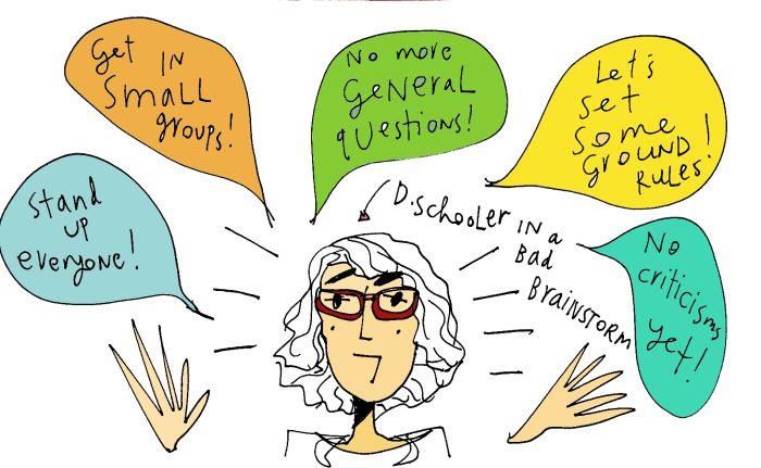 Legal Design Innovation - dschooler in a bad brainstorm