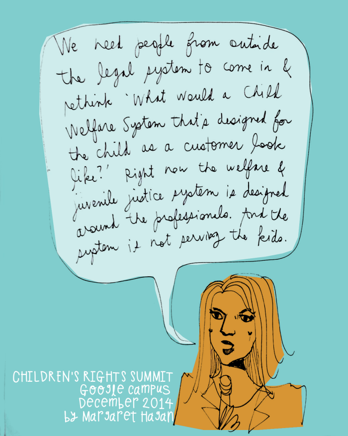Legal Design - what would a child welfare system designed for the child look like