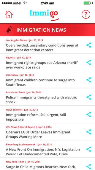 Resource sharing - Immigo - Immigration Advocates Resouce Sharing app 4