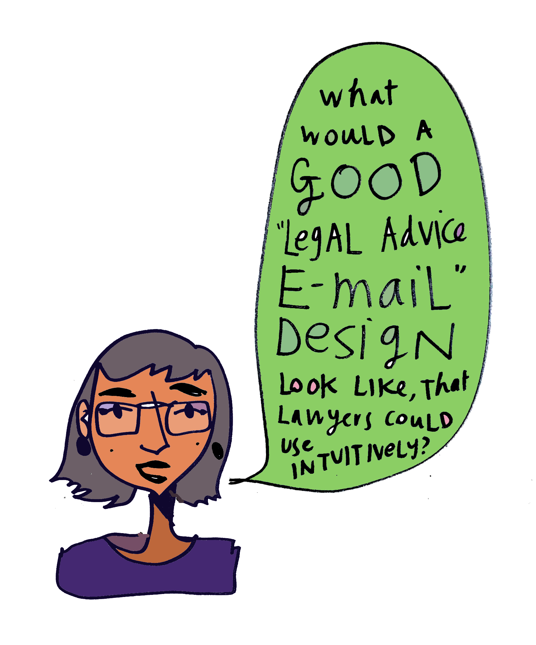 Visual Law Meetup takeaways - challenge - email design for lawyers