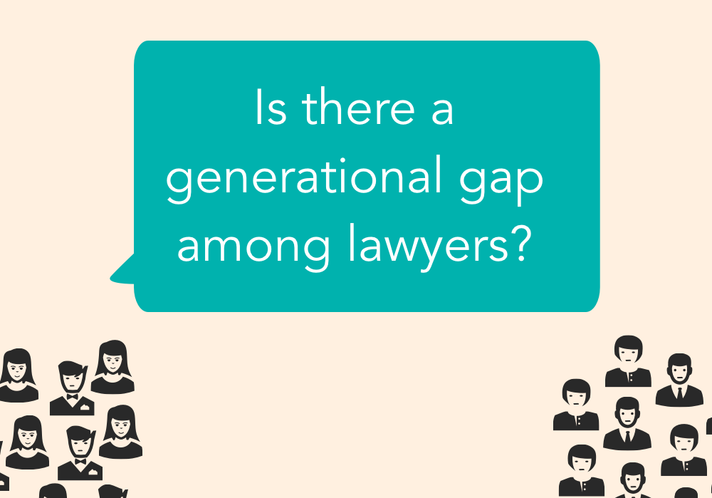 Is there a generational gap among lawyers?