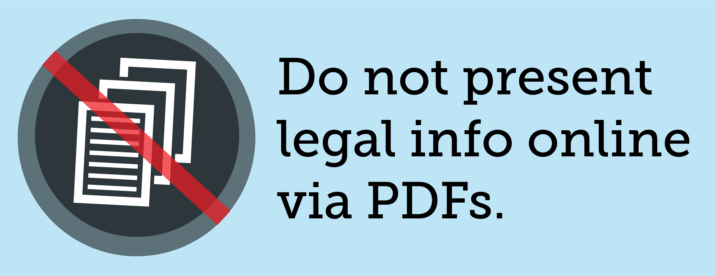 No Pdfs for legal information online - by Margaret Hagan - Open Law Lab-02