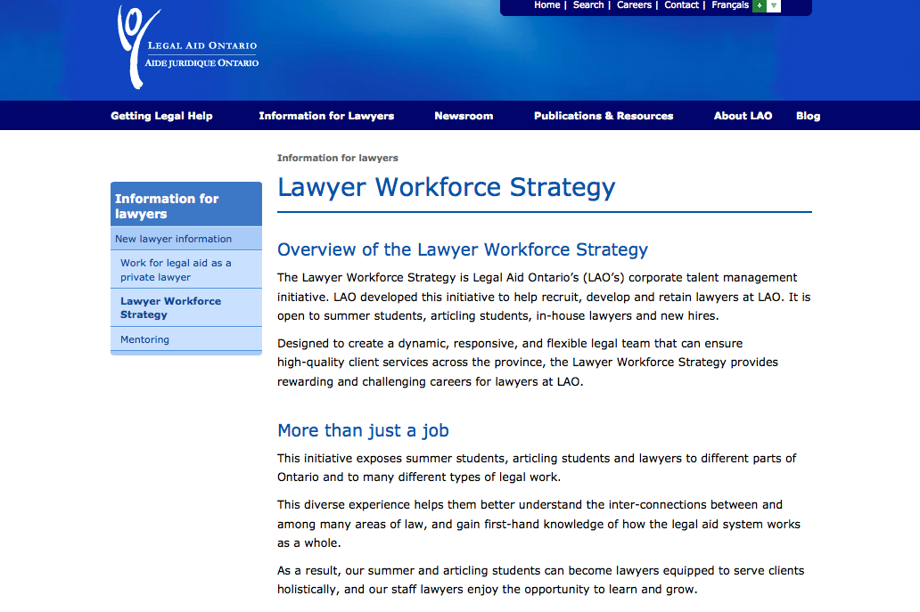 Open Law Lab - Legal Workforce Strategy