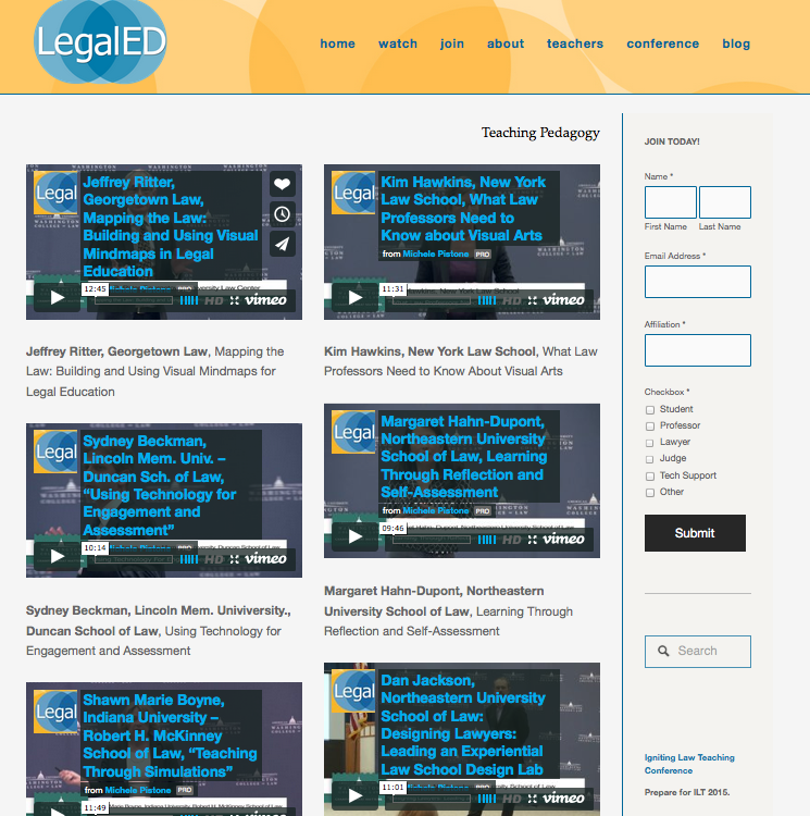 Legal Ed Redesign - Igniting Law Teaching - Ted for law schools -Screen Shot 2015-03-14 at 4.23.32 PM