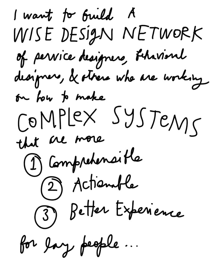 Wise Design - behavioral economics for legal services design
