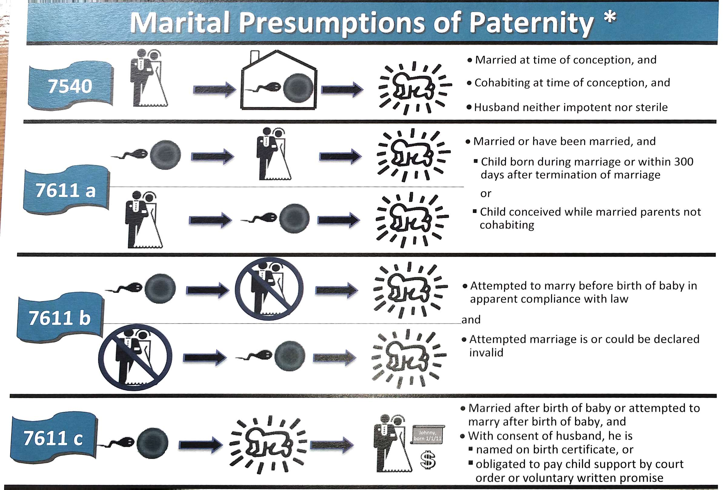 legal visual - marital presumption of paternity