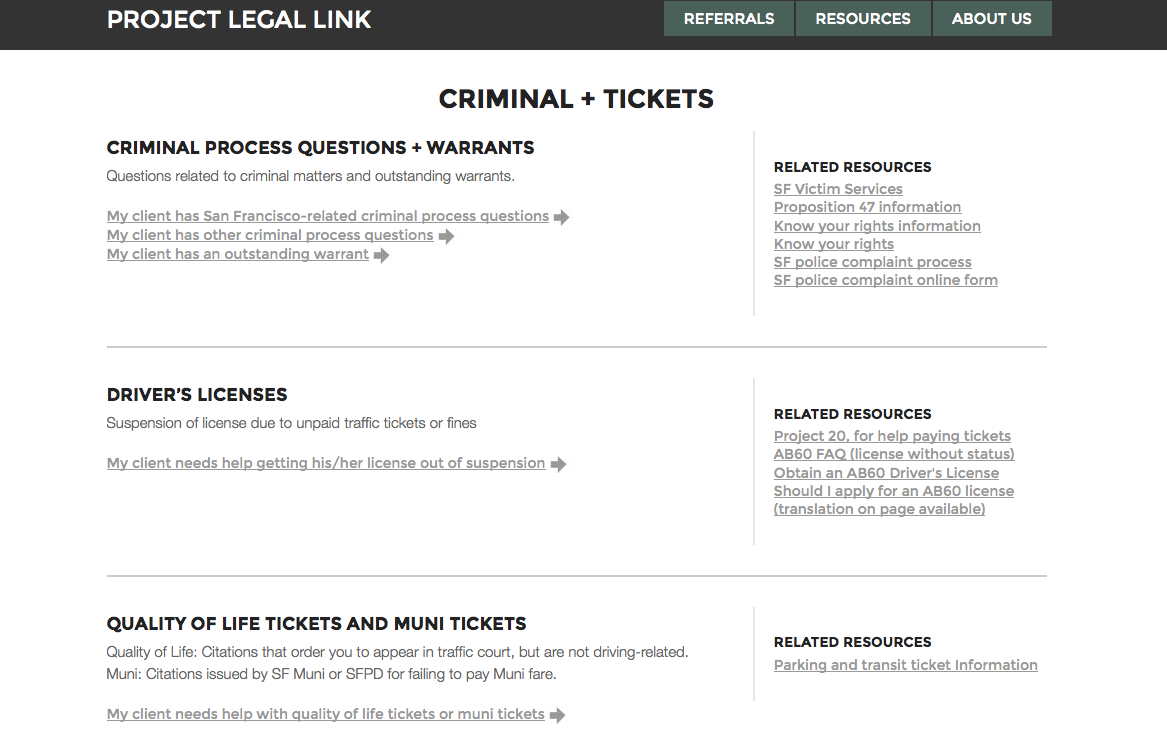 Project Legal Link - coordinating social and legal services - open law lab - Screen Shot 2015-04-24 at 10.34.28 PM