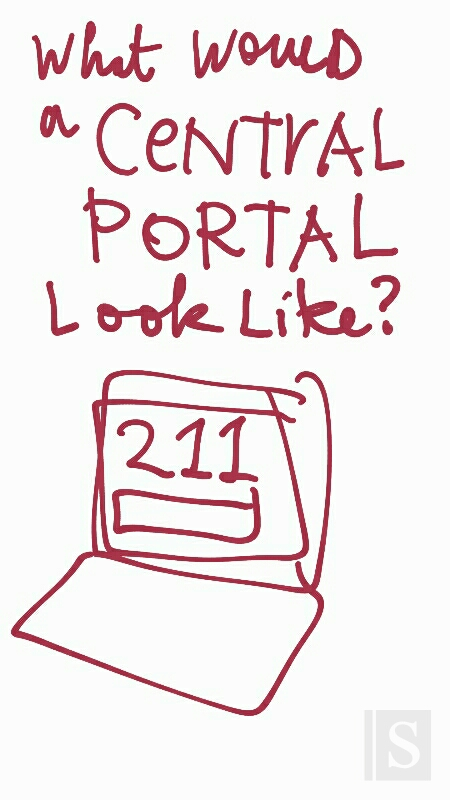 What would a central portal look like?