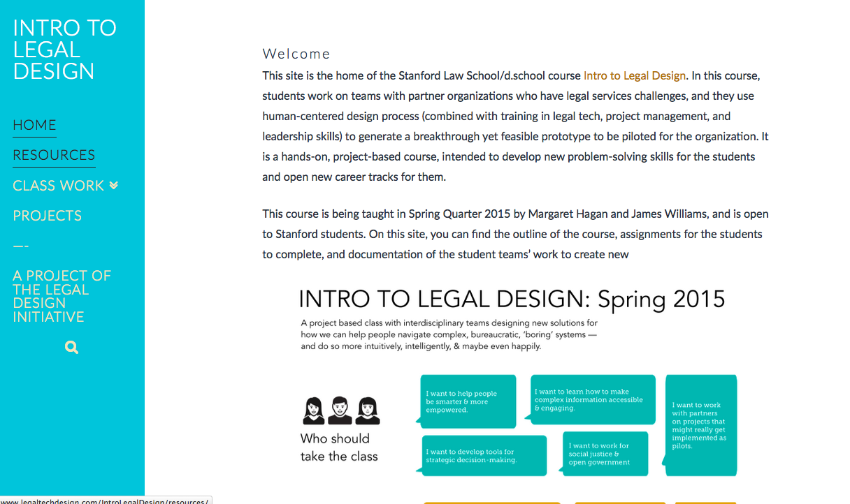 Intro to Legal Design
