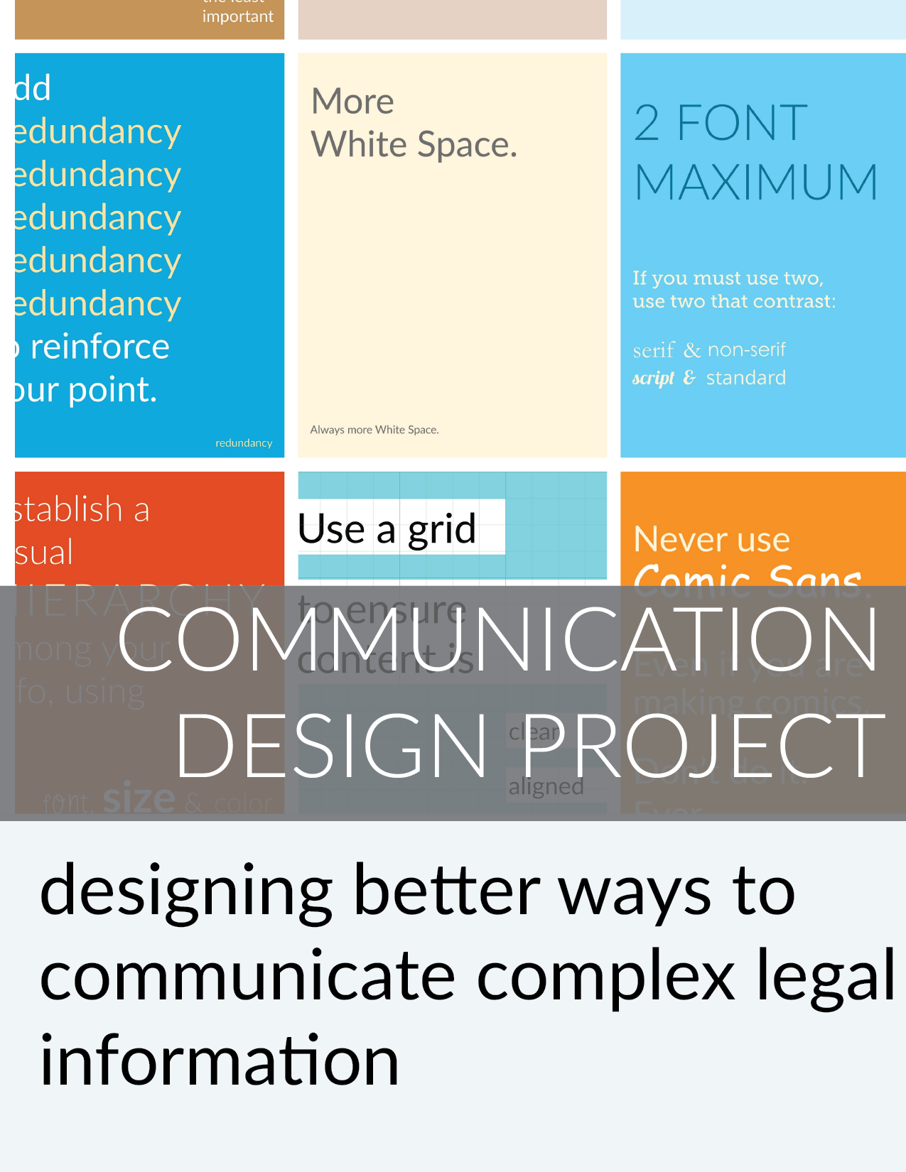 Legal Communication Design