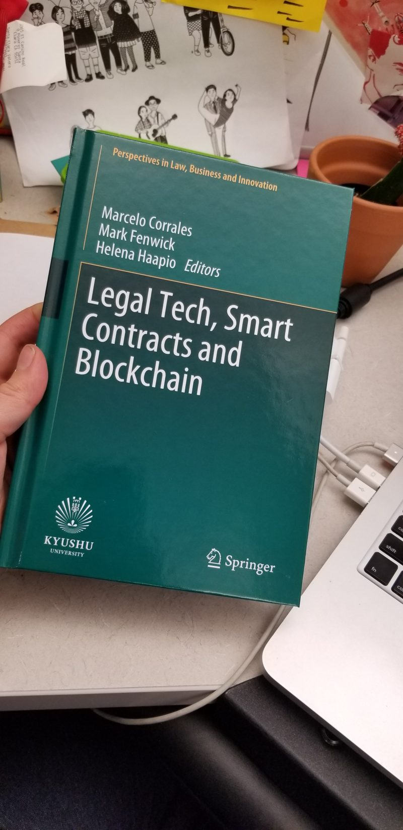 cover of book Legal Tech, Smart Contracts, and Blockchain